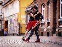 Tango in der Innenstadt von Göttingen