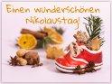 Einen wunderschönen Nikolaustag!    Dieses Motiv ist am 06.12.2019 neu in die Kategorie Nikolaustag aufgenommen worden.