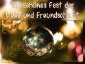 Ein schönes Fest der Liebe und Freundschaft.    Dieses Motiv ist am 21.12.2019 neu in die Kategorie Weihnachtskarten aufgenommen worden.