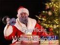 Sportliche Weihnachtsgrüße!    Dieses Motiv ist am 15.12.2019 neu in die Kategorie Lustige Advents & Weihnachtskarten aufgenommen worden.