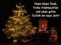 Vielen lieben Dank, frohe Weihnachten und einen guten Rutsch ins neue Jahr!    Dieses Motiv befindet sich seit dem 24. Dezember 2019 in der Kategorie Danke.