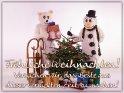 Fröhliche Weihnachten!  Versuchen wir, das Beste aus dieser verrückten Zeit zu machen!    Dieses Kartenmotiv wurde am 16. Dezember 2020 neu in die Kategorie Advents- und Weihnachtskarten für schwere Zeiten aufgenommen.