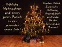 Fröhliche Weihnachten und einen guten Rutsch in ein gesundes neues Jahr!  Frieden, Glück, Zuversicht, Hoffnung, Freundschaft und Liebe für die kommenden Monate!    Dieses Motiv wurde am 23. Dezember 2020 in die Kategorie Weihnachtskarten eingefügt.