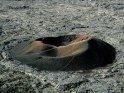 Ein alter Krater des Piton de la Fournaise auf La Réunion