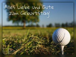 Kostenlose geburtstagskarten fur golfer