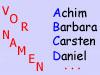 Vornamen